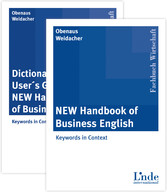 Package 'NEW Handbook of Business English' und 'Dictionary and User´s Guide to the NEW Handbook of Business English' - 2 Bände